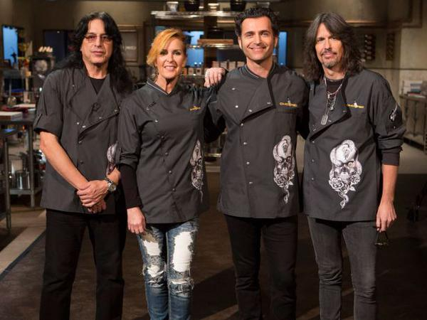 dweezil zappa on chopped to support guitars not guns.
